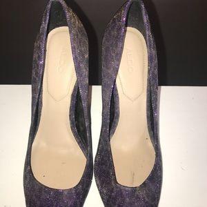 Aldo Shoes - Aldo Leopard Print Stiletto Heel